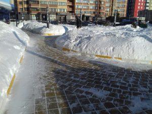 Весенние снегопады